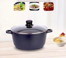 NEW 30cm Non-Stick Coated Aluminum Saucepan Large Cooking Pot AU