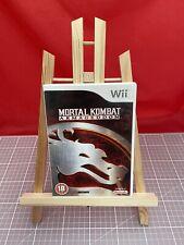 Used WII Game, Mortal Kombat - Armageddon, Free P&P