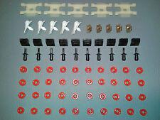 75 parentesi/clip/tappo per MERCEDES-BENZ w116 Classe S 280 350 450 se sel