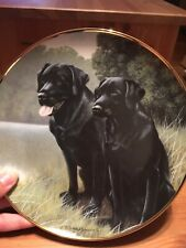 Franklin Mint Heirloom Collection Sporting Companions by Nigel Hemming 24kt