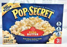 Pop Secret Extra Butter Microwave Popcorn 9.6 oz