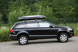 Premium Dachbox Moby Dick SL SCHWARZ von Mobila  stabile Dachbox und Surfbox