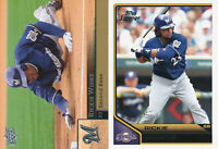 Rickie Weeks Lot of 2 different Milwaukee Brewers baseball cards