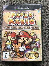 Nintendo Gamecube Paper Mario The Thousand Year Door