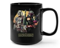 Star Wars The Mandalorian And Boba Fett Coffee Mug Gift Ideas Star Wars Fan