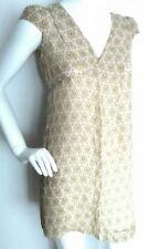 ZARA tunic shift dress size XS 100% Silk --BRAND NEW-- paisley print