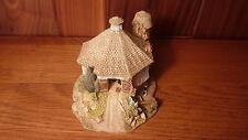 Vint 1993 Handmade English Porcelain Lilliput Lane - Simply Amish Lg Round Barn