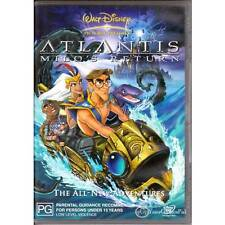 DVD ATLANTIS MILO'S RETURN DISNEY Sequel Animated Adventure Deleted Scene R4 [G]