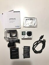 GoPro HERO4 Black Edition Action Camera w/ extra Batteries - MINT Hero 4