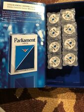 Parliament Lights Tobacco Advertising Lite Cube Glows Icecube Tobacciana In Box