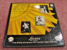 TCHAIKOVSKY-THE SLEEPING BEAUTY  2 LP BOX SET-PARIS ORCHESTRA-LONDON RED LBL-UK