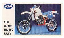 figurina MOTOR SHOW BAGGIOLI 1986 NEW numero 91 KTM ENDURO RALLY