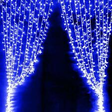300 LED Window Curtain Lights String Fairy Lamp Wedding Party Decor Striking G