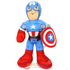 """Marvel Avengers Captain America  Jumbo Plush Doll 24"""" Bedding Cuddle Pillow"""