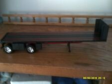 1/32 NEW RAY PLASTIC BLACK FLATBED, WITH NO PACKAGING # G 2