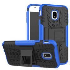 Hybrid Case 2teilig Outdoor Blau Tasche Hülle für Samsung Galaxy J3 J330F 2017