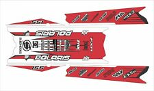 POLARIS RUSH PRO RMK  ASSAULT 120 144 155 163 wrap kit DECAL tunnel top red L