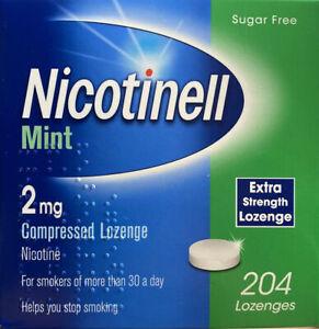 4 x Nicotinell Mint 1mg and  2mg Lozenge 204 Lozenges   (816 Lozenges)