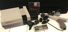 Nintendo Entertainment System NES Console Controller Zapper RF Switch AC TESTED