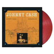 Johnny Cash, In Prague Live, NEW/MINT Ltd edition RED VINYL LP (RSD'15) 180 gram