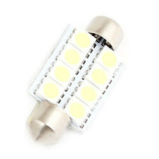 38mm White 8 LED 5050 SMD Festoon Light Bulb 4pcs for Car Dome Lamp N3