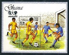 Ghana 1987 MNH SS, Football WC, Sports,Mexico