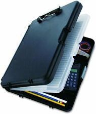 Plastic Clipboard Case Folder With Double Storage Contractor Nurse Coach Work