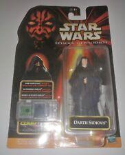 Star Wars Darth Sidious Figure Episode 1 NIP Hasbro