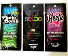 Sample Packets Supre Tan Bestie Selfie Photo Bomb Bronzer Maximiezer Lotion