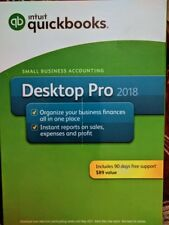 Intuit QuickBooks Desktop Pro 2018 Retail Windows (pc Disc) Accounting Software