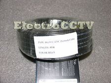 RG59 Real Siamese 65ft Bare Copper CCTV Premade Cable Video with Power UL
