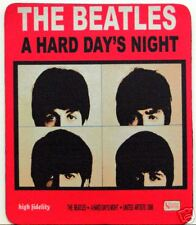 Beatles Mouse Pad Mousepad Vintage Hard Days Night Rock n Roll Retro Music New