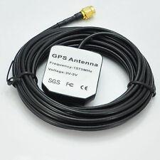 SMA1 Maschio GPS Sat Nav DVD Antenna Antenna 3M Cavo 1575.42MHz per Navman rikalin