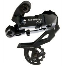 SRAM X3 Rear Derailleur 1:1 Actuation