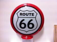ROUTE 66 AMERICA'S HIGHWAY PREMIUM REPRODUCTION PETROL BOWSER GLOBE LIGHT