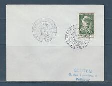 frb/ enveloppe peinture et philatélie  Chardin  69 Lyon  1956