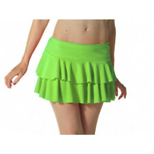 Ladies Girls Neon RARA Mini Short Skirt Dance Club Fancy Women All Sizes S - XL