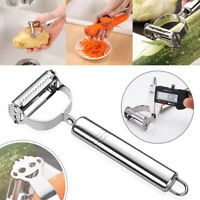 2PCS Potato Peeler Carrot Grater Julienne Fruit Vegetable Cutter Kitchen ToolS