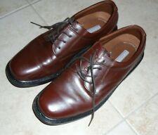 Nunn Bush Dynamite Comfort  Mens Brown Leather Upper Oxford Size 8 1/2 m