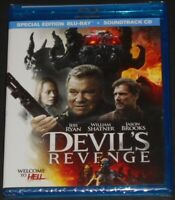 DEVIL'S REVENGE usa blu-ray + soundtrack CD NEW SEALED jeri ryan WILLIAM SHATNER