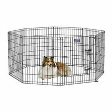 Midwest 552-30DR Dog Metal Exercise Pen Play - Black