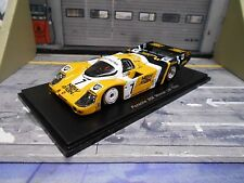 PORSCHE 956C 956 C Le Mans 1985 Winner #7 Joest New Man Ludwig Barill Spark 1:43