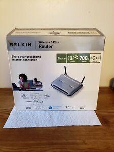 Belkin F5D7231-4 54 Mbps 4-Port 10/100 Wireless G Router