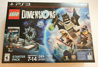 LEGO Dimensions PS3 Starter Pack 71170 Building Toy Batman 269 PCS NEW, SEALED