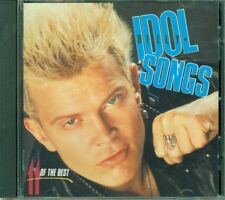 Billy Idol - 11 Of The Best Chrysalis Plus 2 Bouns Tracks Cd Perfetto