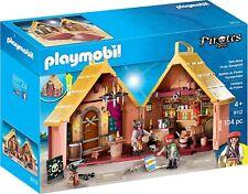 PLAYMOBIL Taverne Bastion des pirates transportable 9112 Enfant Garçon jeu jouet