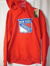 New York Rangers Men's NHL Apparel Hooded Pullover Sweatshirt Size XL