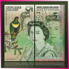 $5 Pitcairn Islands QEII POLYMER Test Private Fantasy banknote