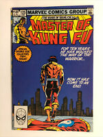 Marvel Comics The Hands Of Shang Chi Master Of Kung Fu #125 Final Issue