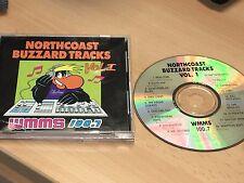 NORTHCOAST BUZZARD TRACKS VOL 1  1991 CD  Cleveland Ohio INDIE ROCK compilation